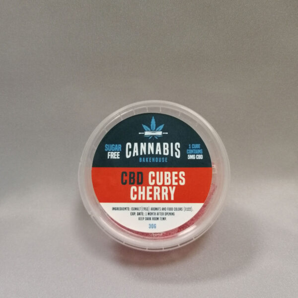 caramelle al cbd gusto cherry